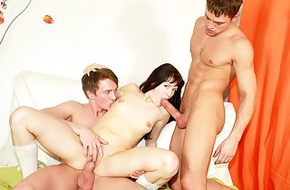 Horny college student fucking at B-day..