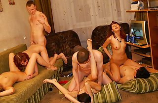 Spectacular and hot schoolgirl party..